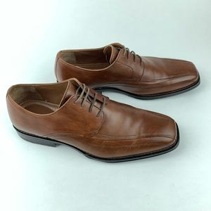 Johnston and Murphy Men's Bicycle Toe Oxfords 10M